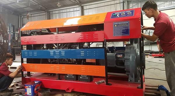 Kết quả hình ảnh cho máy bơm chữa cháy diesel hyundai