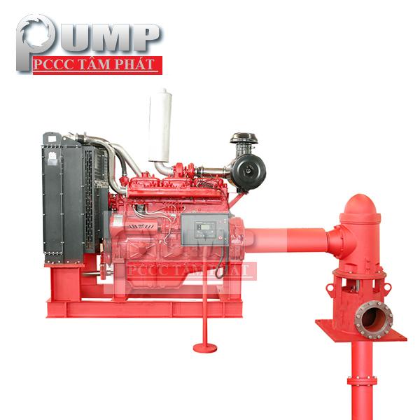 May Bom Diesel Tuabin Truc Dung 90kw